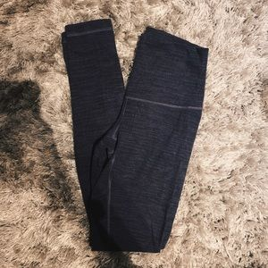 Lululemon Dark Purple Leggings High Rise